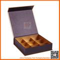 caja de chocolate de papel rectangular