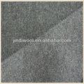 Doble- cara de lana tejida tela de abrigo de lana