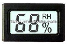 Computadora de mano higrómetro electrónico con indicador de humedad