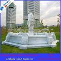 white marble fountain for garden decoration