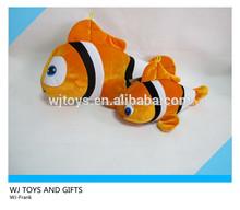la costumbre de los animales de juguete de felpa peces payaso para la promoción