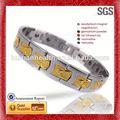 pulseras de la amistad con los patrones de bolas de acero inoxidable pulseras de moda