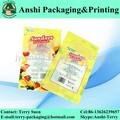vivid impresa bolsa de plástico para la merienda de alimentos de plástico bolsa de aperitivos