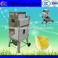 Yh-sct268 nueva de acero inoxidable de maíz dulce fresco/trilladora de maíz/pelador/máquina desgranadora