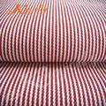 Colorido 265g y de algodón/raya d
