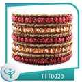 2014 Nuevos Productos Multi-capa hecha a mano de la perla del abrigo Pulseras pulseras de hilo