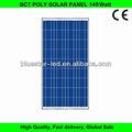 de alta eficiencia solar poli módulo 140 vatios módulo solar
