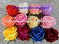 China proveedor/artificial flor olla/artificial flor de la orquídea cabezas