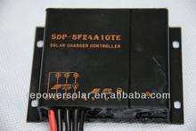 10a 20a 12v 24v controlador de carga solar impermeável completo ip67