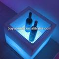 Led cubo de hielo cubo/led cubo del vino/led pote de flor