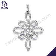 nudo chino de diseño al por mayor de jerusalén cruz
