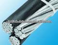 cable awg tamaño aérea manojo de cables de servicios gota