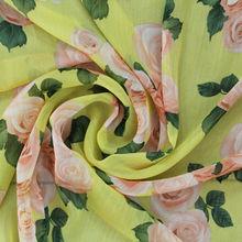 2014 nuevo diseño de moda de china tela impresa gasa crepe