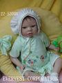 14 pulgadas de vinilo bebé mohair muñeca