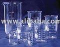 de laboratorio de vidrio vaso de precipitados graduted