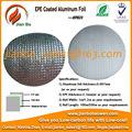 EPE papel de aluminio recubierto como material de aislamiento de aire acondicionado