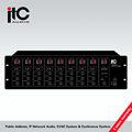 8 zona digital audio matriz controlador con paginación controlador t-8000