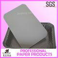 La venta directa recipiente de aluminio tapa de cartón mercancía contenerizada