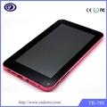 7 pulgadas mid androide inteligente de la batería esterasdecoches 3.7v tablet para los niños