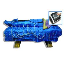 utiliza equipos de masaje pressotherapie botas