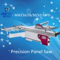 Gabinete haciendo corte de madera escuadradora con hoja de puntuación 1600mm a 3800mm