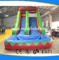 El precio de fábrica de aguainflable de diapositivas/agua de la piscina de diapositivas para adultos