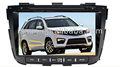 isun 2 din coche más nuevo de central multimedia para kia sorento 2013