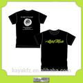 De alta calidad t- shirt de producción