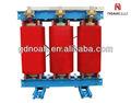 SCBH15 trifásico tipo seco transformador de potencia toroidal intensificar transformador de tensión