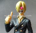 (moq 300 $) sanji one piece japonais chiffres de PVC d'anime 23cm