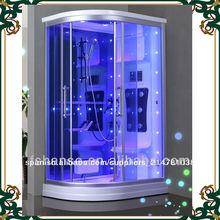 Hs-sr010 chica venta caliente de la ducha de vapor sala/ducha de vapor baño/de vapor de mimbre sala de ducha