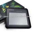 Digital pen tablet gráfico ugee arco-íris inteligente