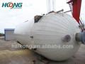 la presión del tanque de almacenamiento para el dióxido de carbono