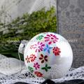 elegantes al por mayor de adornos de bolas de cristal de la Navidad