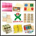 Montessori china/montessori jugueteseducativos/materiales montessori( qx- 177g)( 1 conjunto =216pcs)