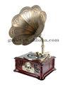 shabby chic decoración para el hogar de madera decorativa antiguo gramófono