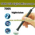 Inspección de animascopio del USB con el cabezal de la cámara 10 mm o 7 mm