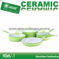 8pcs juego de ollas de cerámica de recubrimiento