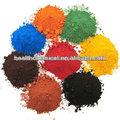 pigmento inorgánico de cerio en polvo de sulfuro de pigmento de la pintura de óxido de hierro