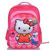 hello kitty niños mochilas escolares para las niñas encantadoras ruedas con la luz