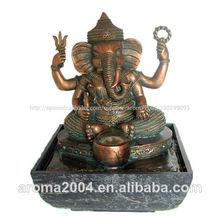 dios hindú polyresin fuente