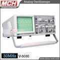 V-5030 análogo osciloscopio 30MHz osciloscopio de doble canal