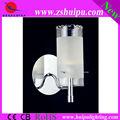 barroco de marfil de vidrio taza de nuevo led lámpara de pared