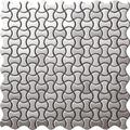 EMSA024-1,acero inoxidable irregular del azulejo del mosaico