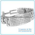 2013 Última Moda Reloj Estilo Pulsera Para Hombres Pulsera de Diamantes