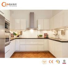 Moderno blanco de alto brillo de laca gabinete de cocina para la venta, dtc de la cocina del gabinete bisagras