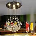 forma redonda de cristal do candelabro e casamento decoração do candelabro da lâmpada para a sala de jantar etl82025