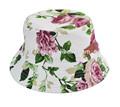 ventas al por mayor baratos floral sombreros del cubo gorro lindo