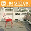 silla de jardín silla de hierro forjado en stock