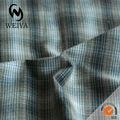 100% hilado de algodón teñido de tela para camisas